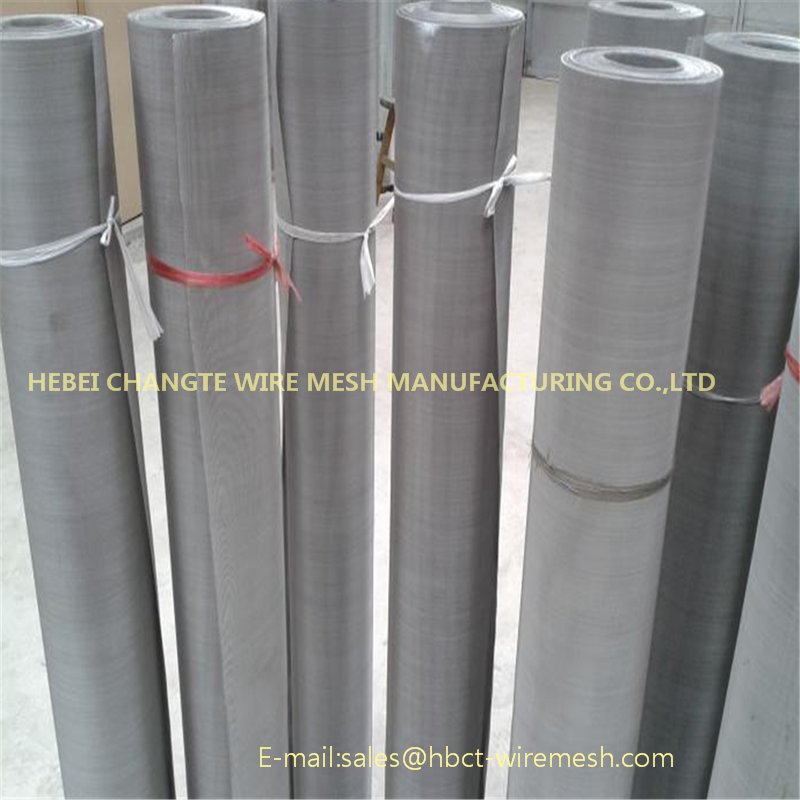 The weaving method of stainless steel screen mesh